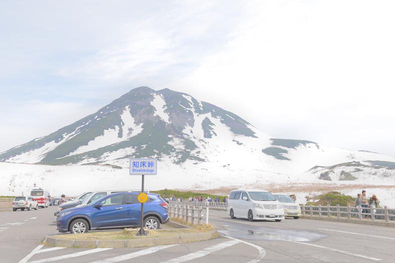 羅臼岳と知床峠
