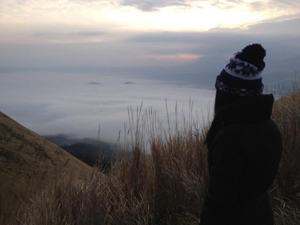雲海が素晴らしかった