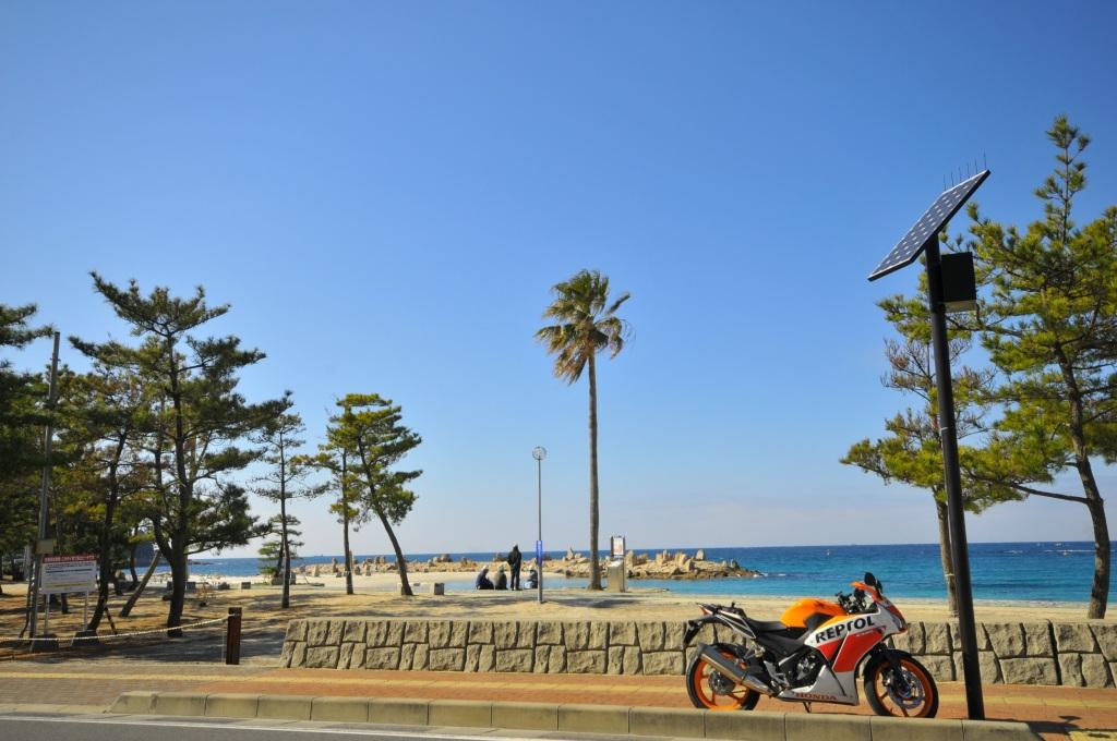 海沿いの和歌山ツーリング