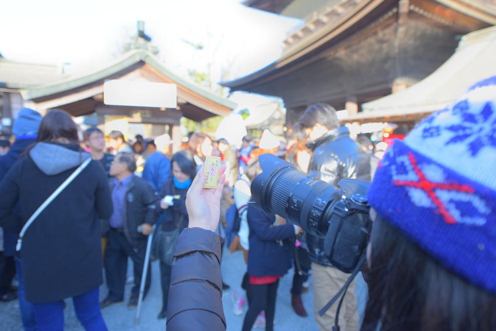 2016年元旦 阿蘇神社で初詣にて