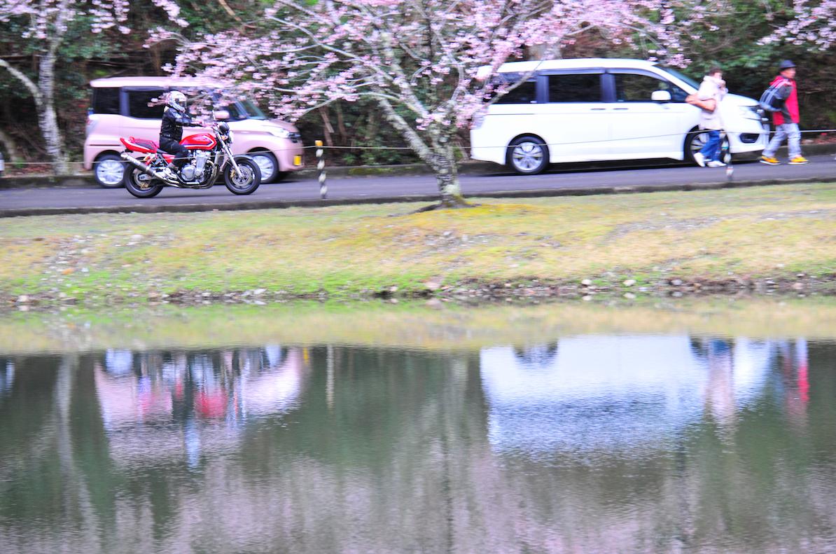 バイクもたくさん来ていました