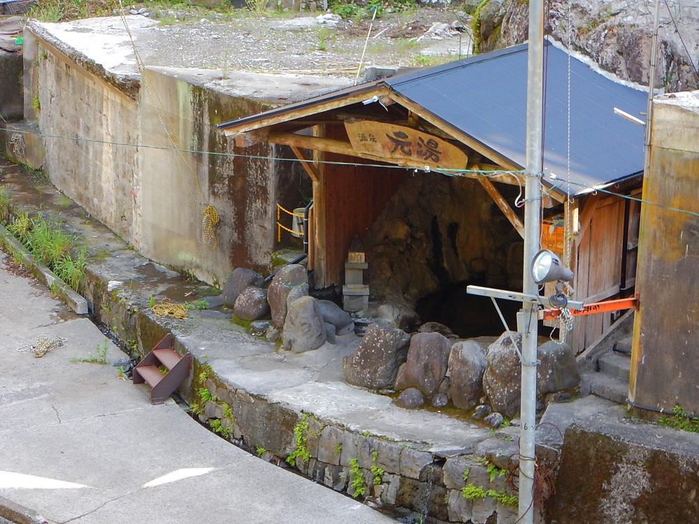 開放的な露天風呂(無料)