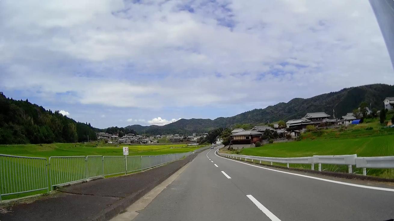 マスツー(車間距離多め)