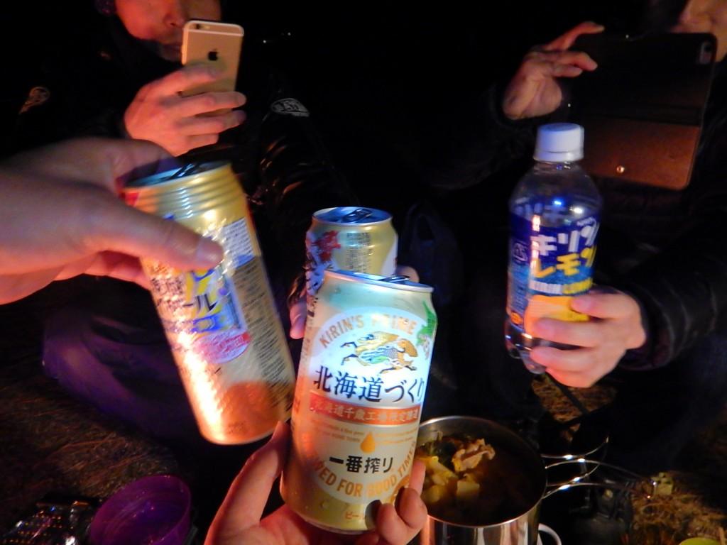 私は北海道づくりの一番搾り