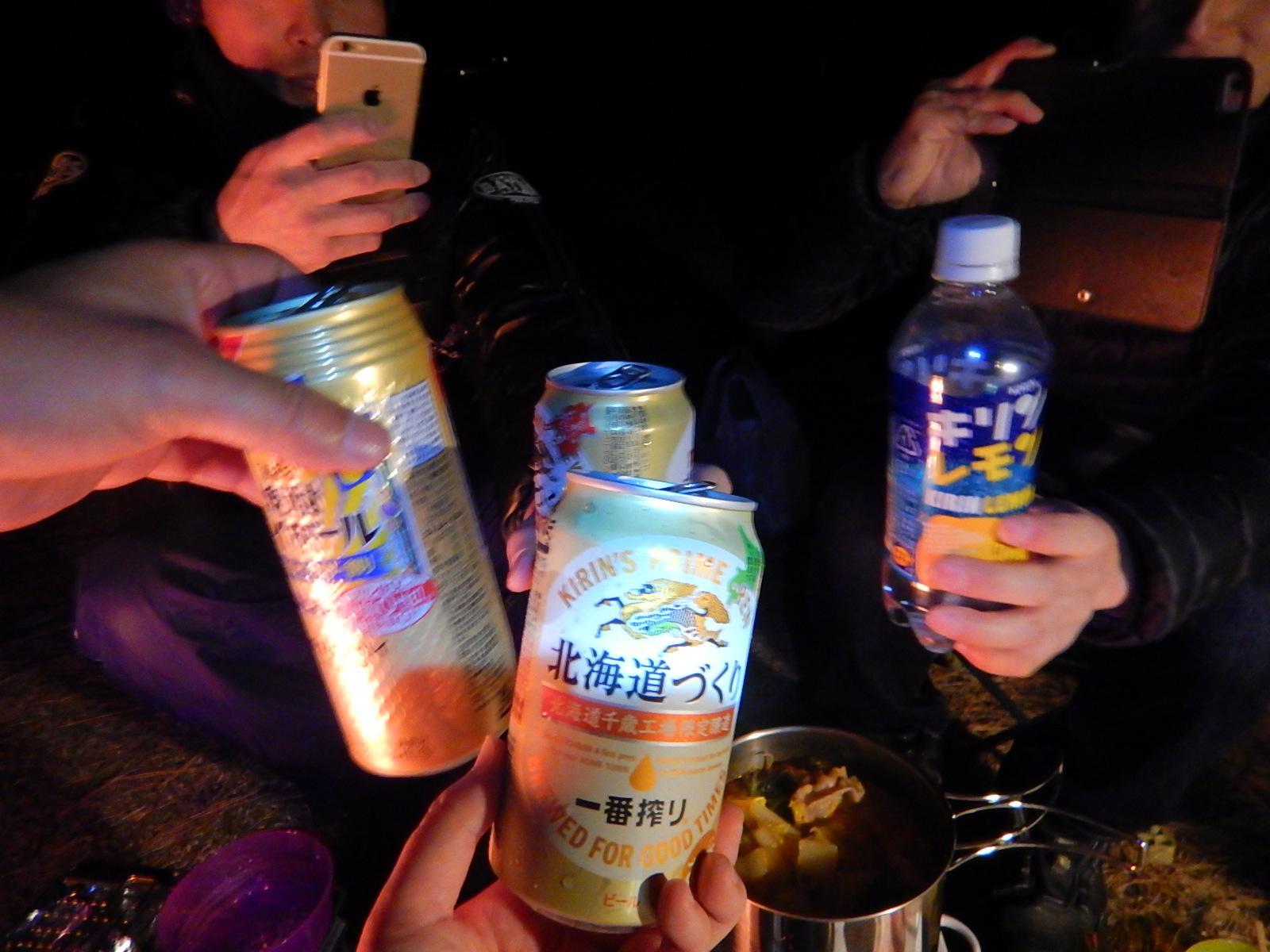 本州最南端の潮岬で冬キャン△.:。+゚(後編)