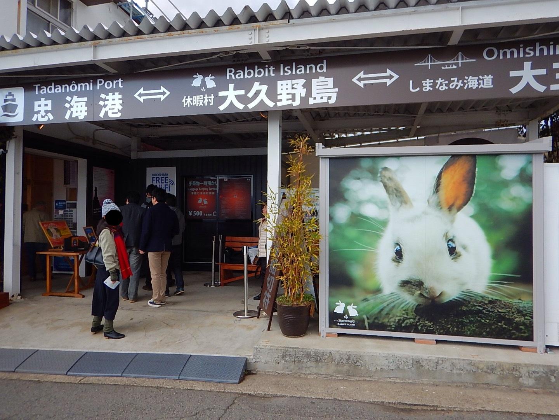 地元もウサギで盛り上がってるっぽい