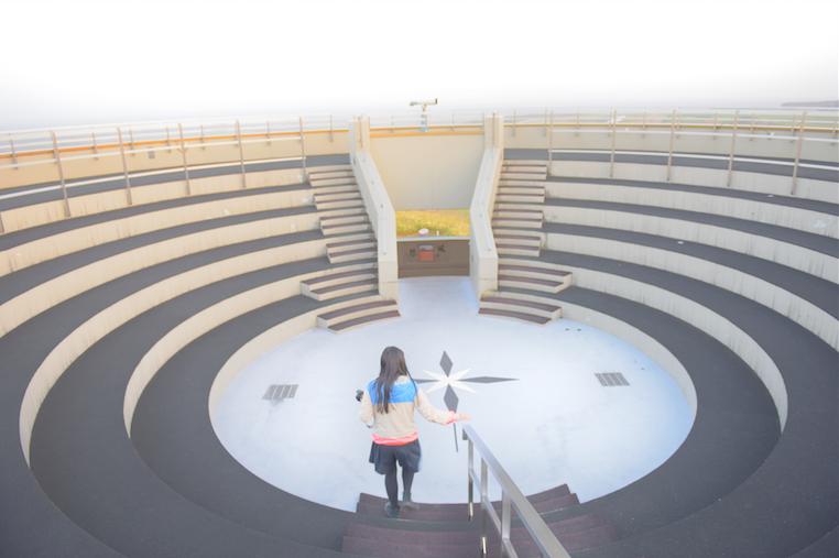 360度見渡せる展望台