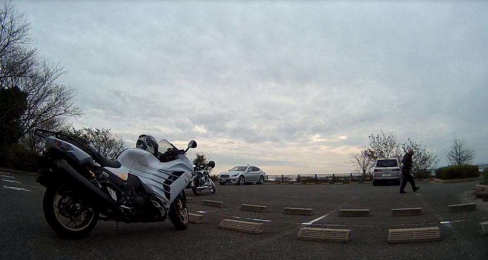 バイクが数台来ていました