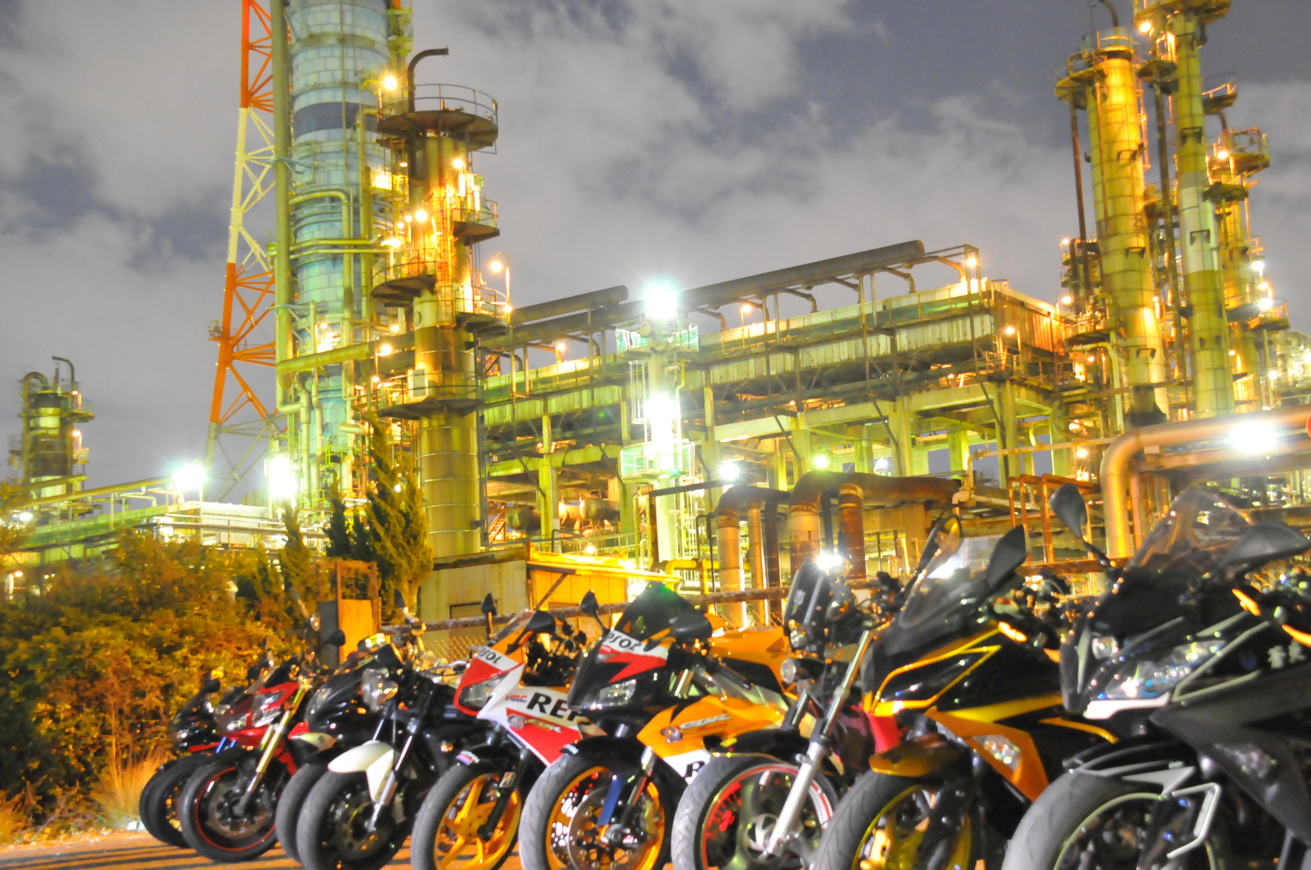 高石工場夜景の撮影会