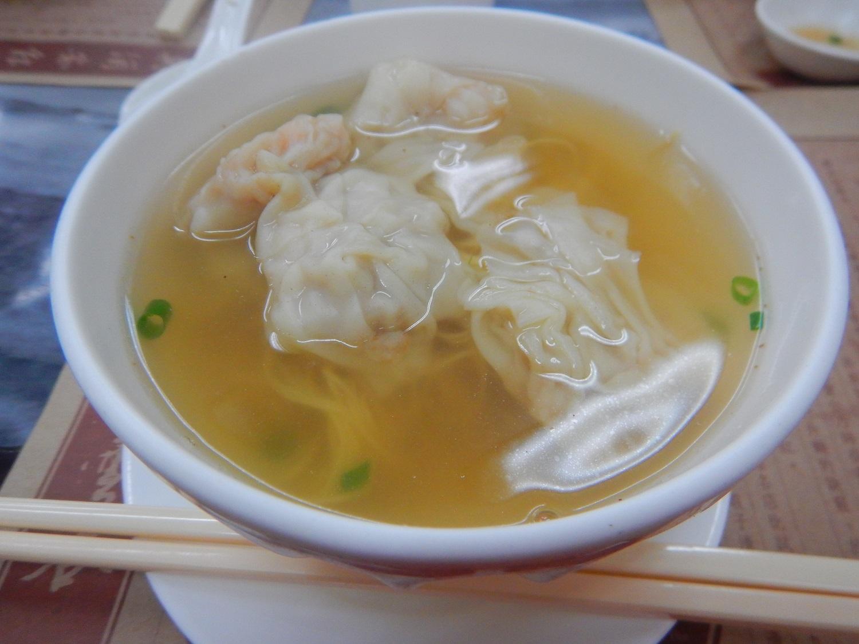 鮮蝦雲吞麵(海老ワンタン麺)
