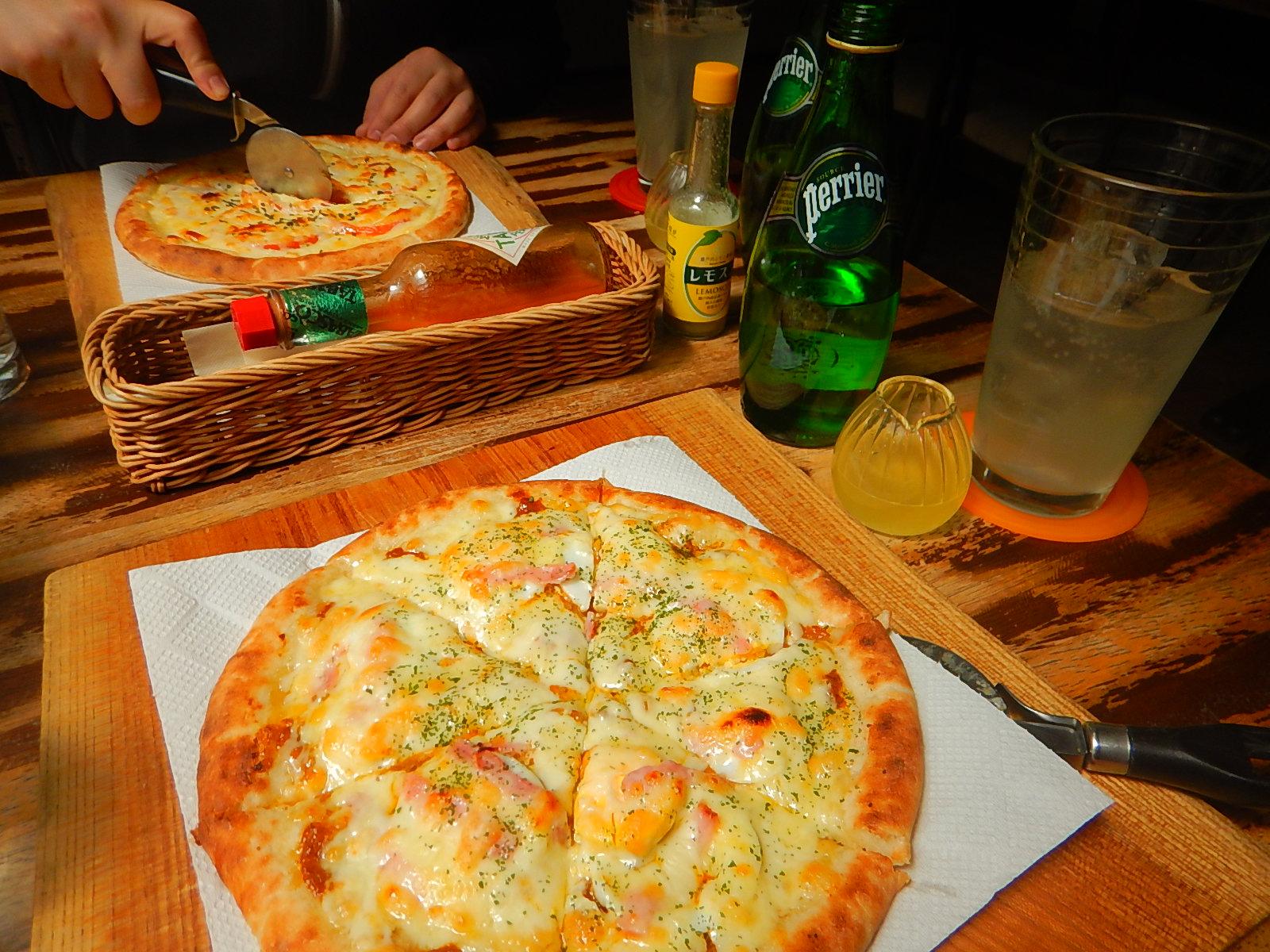 再掲・ピザ美味し