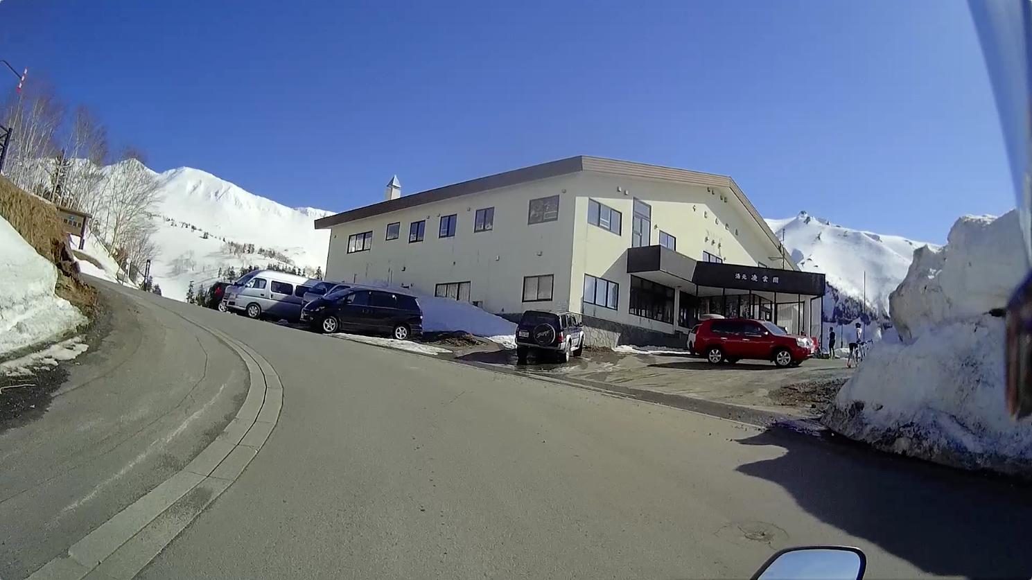 多分、一番頂上の駐車場