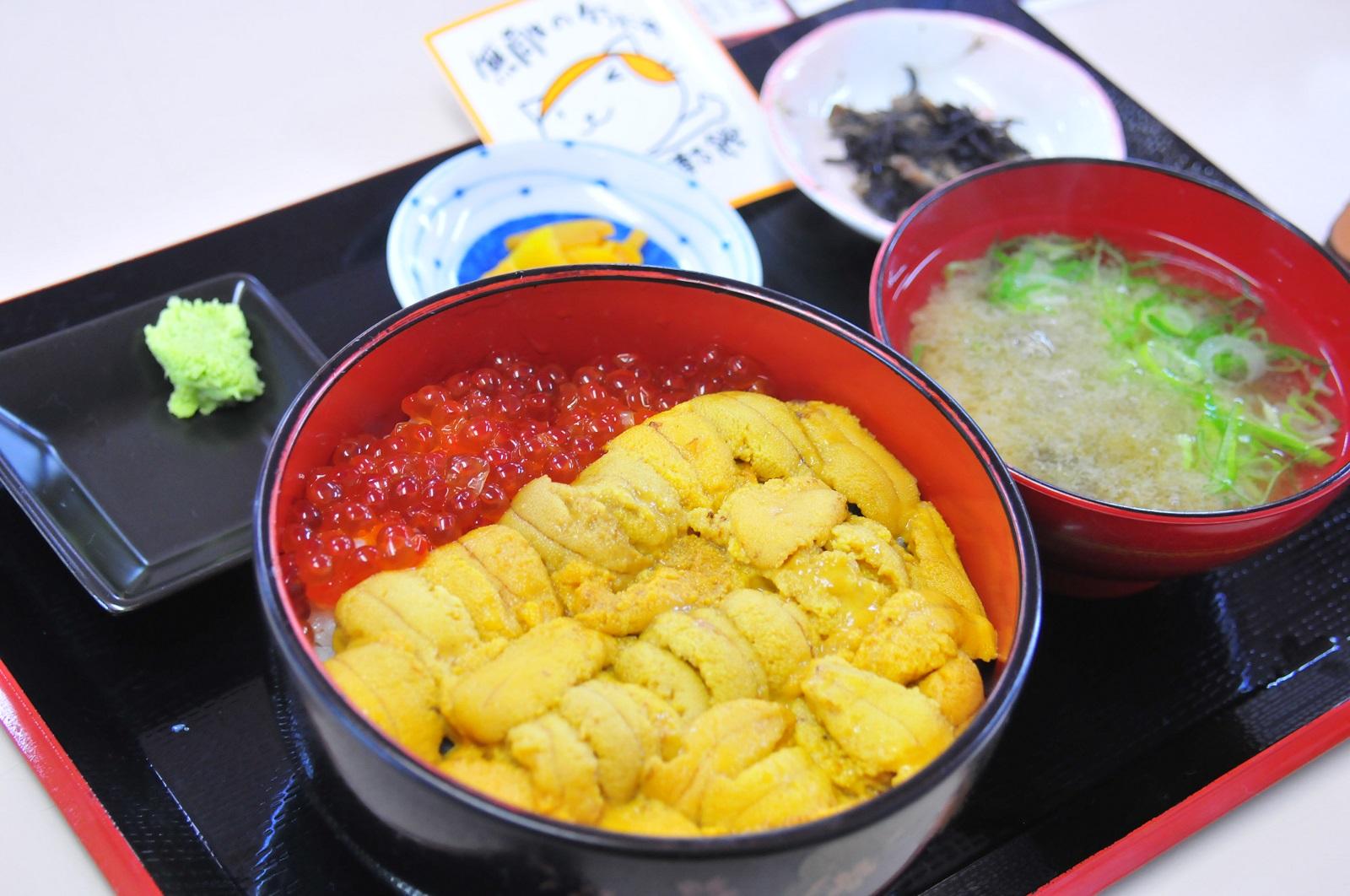 ウニだけウニ丼(ご飯少なめver.)