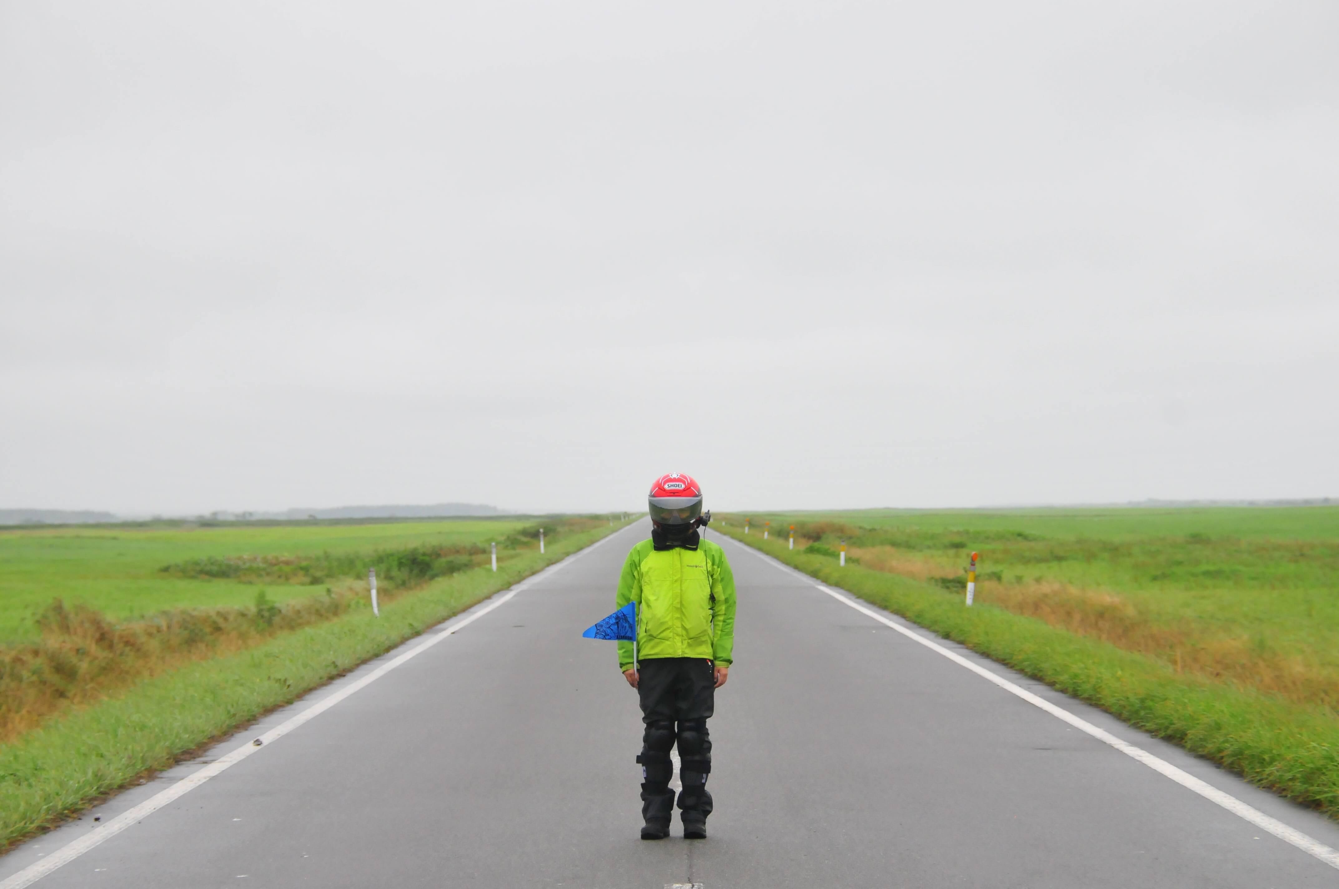 例の北海道雨天ツー