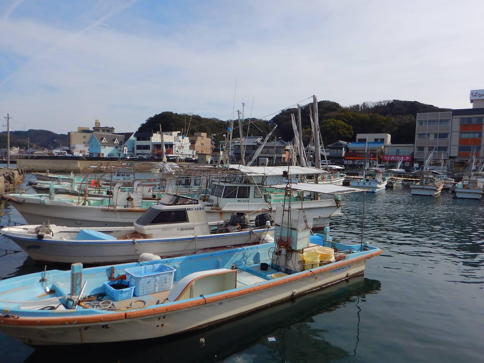 漁港ってかんじ