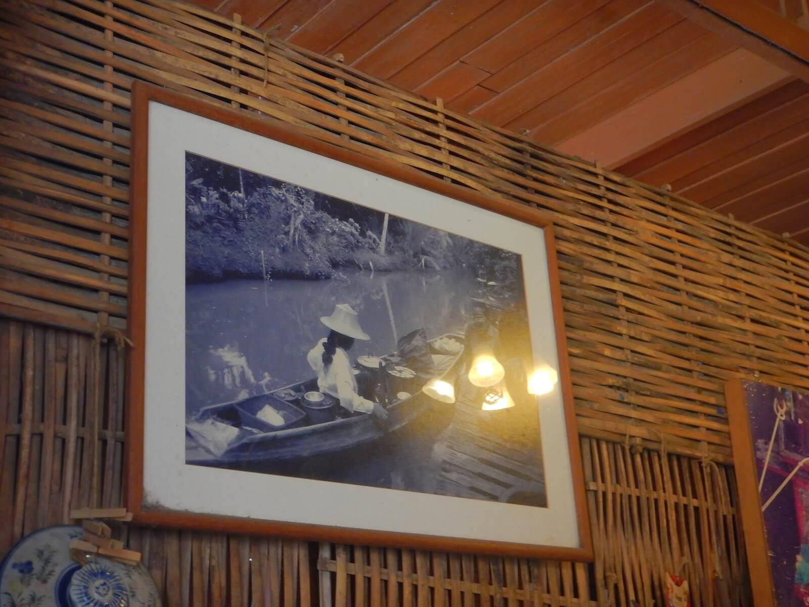 船の上で営業していた時の写真