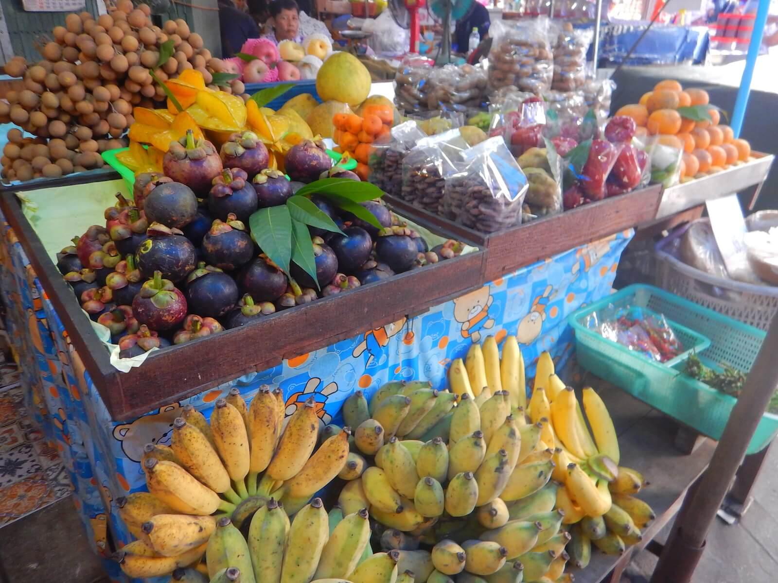 タイって果物の種類がたくさんある気がする