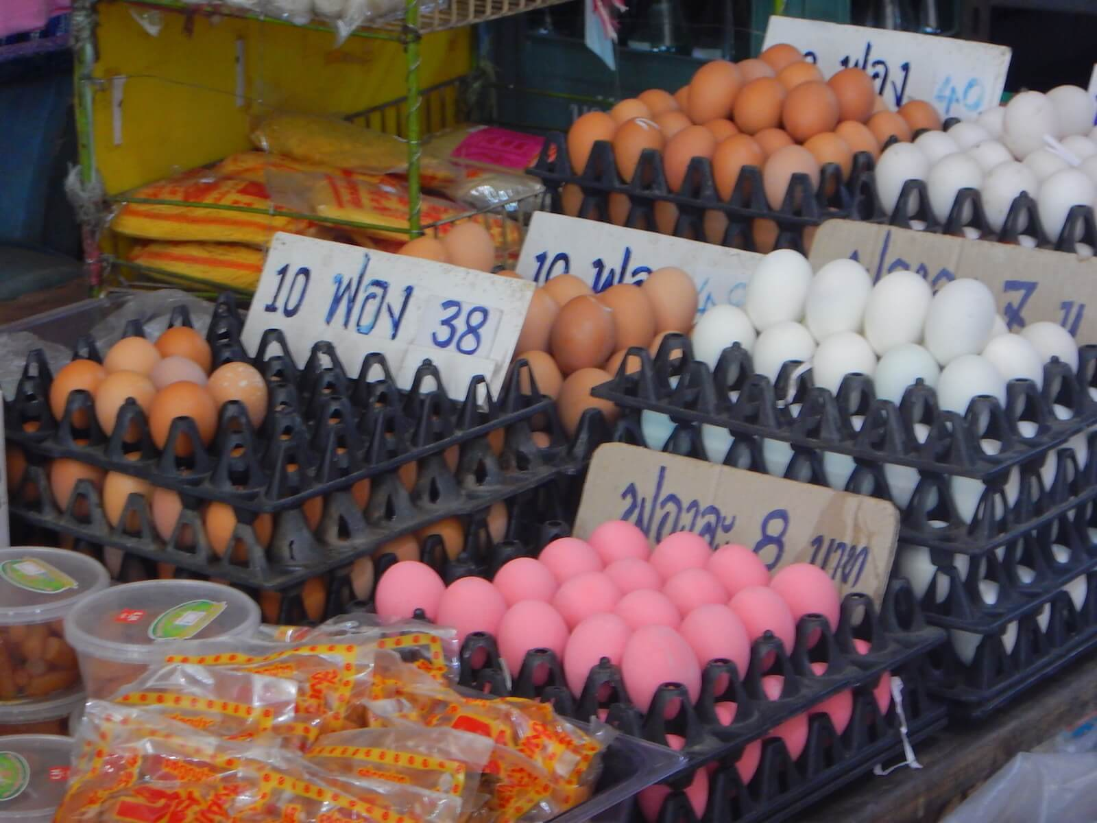 卵もいろんな種類があります