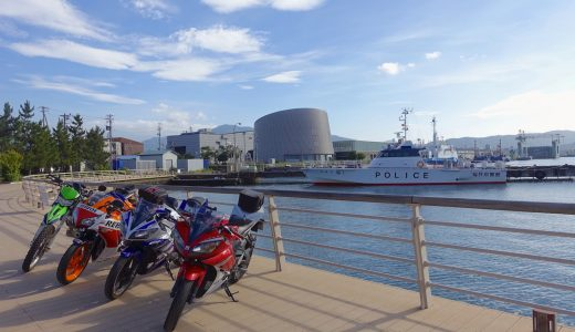 日本海を見に福井県まで健全ツーリングをしてきたよ